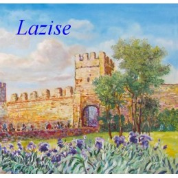 """Lazise castle on Lake Garda"""