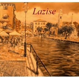 """""""Veduta del porticciolo di Lazise sul Lago di Garda"""""""