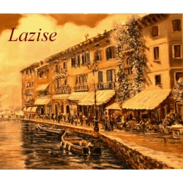 """Lakefront Fontana in Lazise on Lake Garda"""