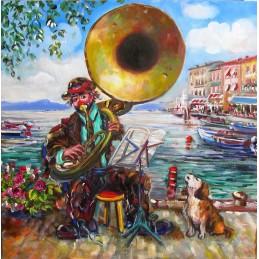 """""""Concerto sul lungolado di Lazise sul Lago di Garda """""""
