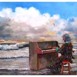 """""""Ocean pianist"""""""