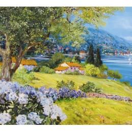Ortensie sul lago di Garda