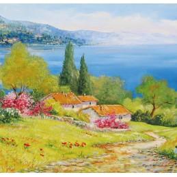 Towards lake Garda