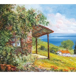 Cottage on lake garda