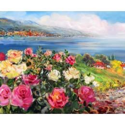 Roses on lake Garda