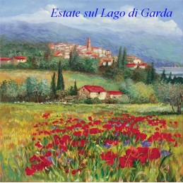 Summer on lake Garda