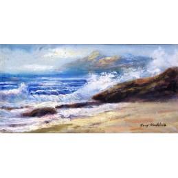 Fresh sea waves