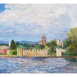 Lazise Castle on Lake Garda