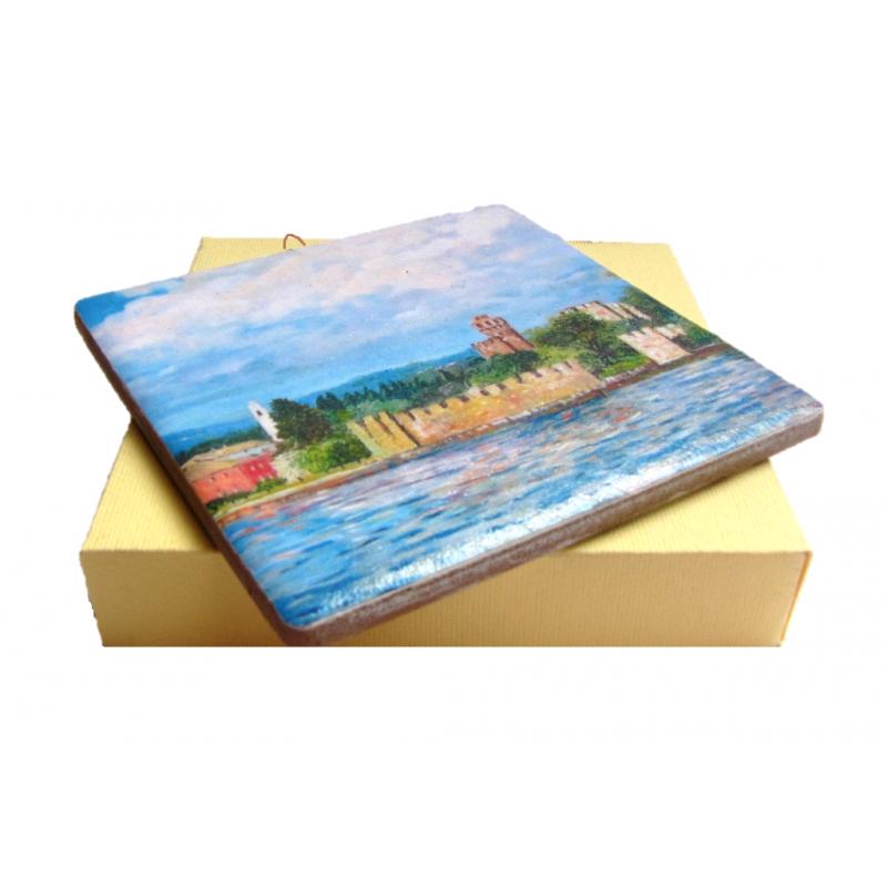 """""""Lazise Castle on Lake Garda"""""""