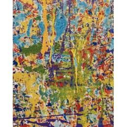 "Oil painting on canvas by Francesco Alessandro Anciani ""La Tour Effeil"""