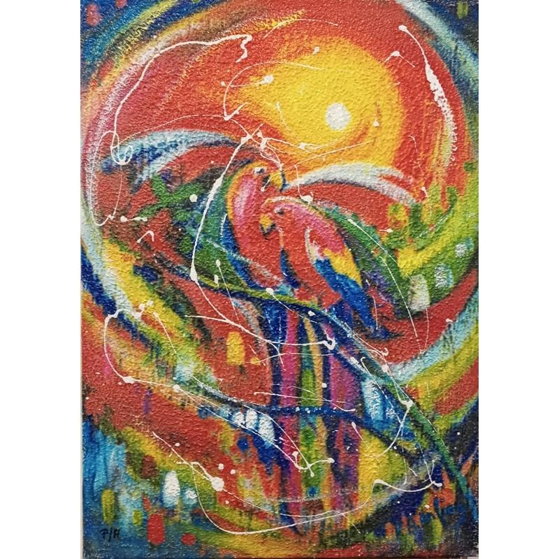 """Dipinto olio su tela di Francesco Alessandro Anciani """"Per sempre"""""""