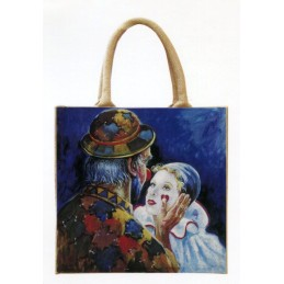 Jute bag in oleography by...