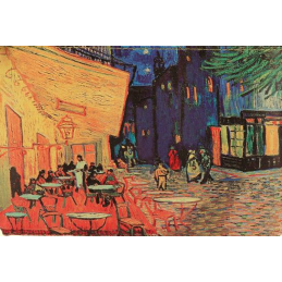 "Magnet in oleography by Vincent Van Gogh ""Coffee at night"""