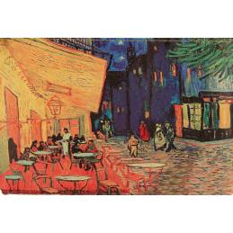 """Magnete in oleografia di Vincent Van Gogh """"Caffè di notte"""""""