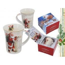 "Porcelain cup ""Christmas Subject"""