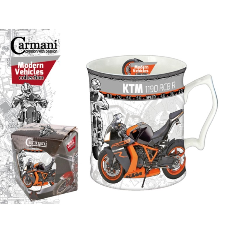 "Porcelain cup Modern Vehicles Collection ""KTM 1190 RC8 R"""