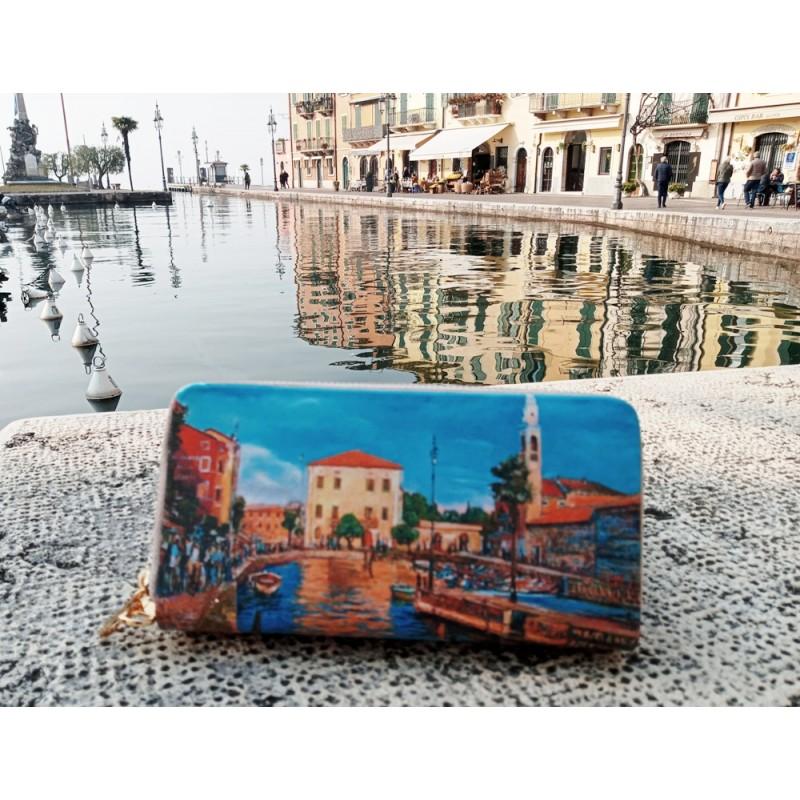 "Riccardo Bellotto women's wallet ""Lazise, lakeside"""