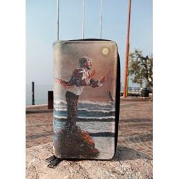 """Portafoglio da donna di Beniamino Ajroldi """"Direttore dell'Oceano - Il peso dell'esperienza"""""""