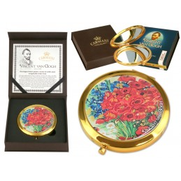 "Vincent Van Gogh handbag mirror ""Poppies"""