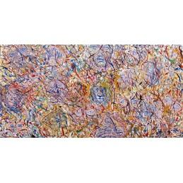 "Dipinto olio su tela di Annalisa Girlanda ""Fai un punto, un semplice punto, e guarda dove ti conduce (Peter H. Reynolds)"""