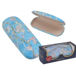 "Small Ladies Glasses Case by Vincent Van Gogh ""Flowery almond"""