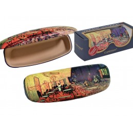 "Small Ladies Glasses Case by Vincent Van Gogh ""Café terrace at night"""