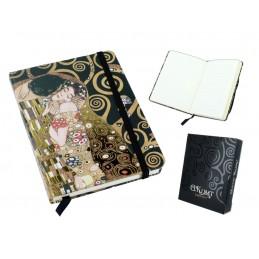 """Gustav Klimt's media diary """"The Kiss"""""""