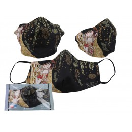 """Maschera protettiva di Gustav Klimt """"Il bacio"""""""