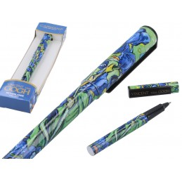 "Decorated ballpoint pen by Vincent Van Gogh ""Irysy"""