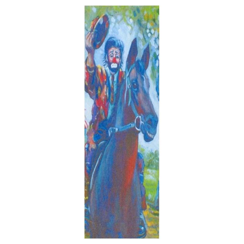 "Rectangular bookmark by Beniamino Ajroldi ""See you later"""