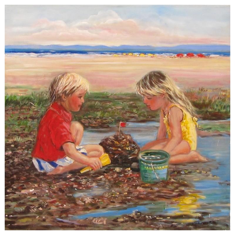 """Play at the beach"""