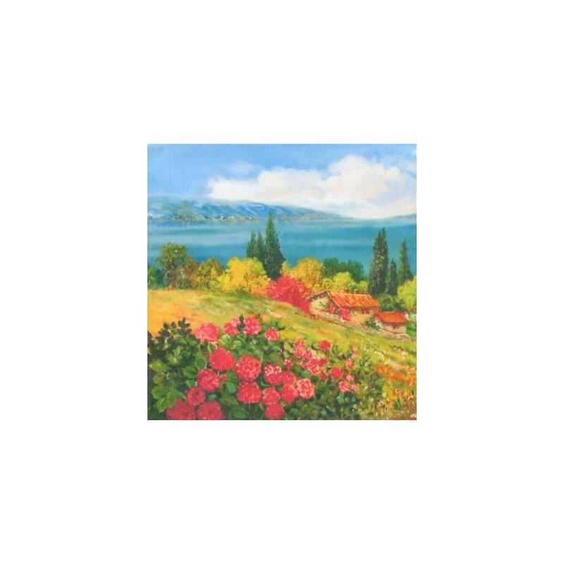 "Pocket bookmark by Beniamino Ajroldi ""Garda hills"""