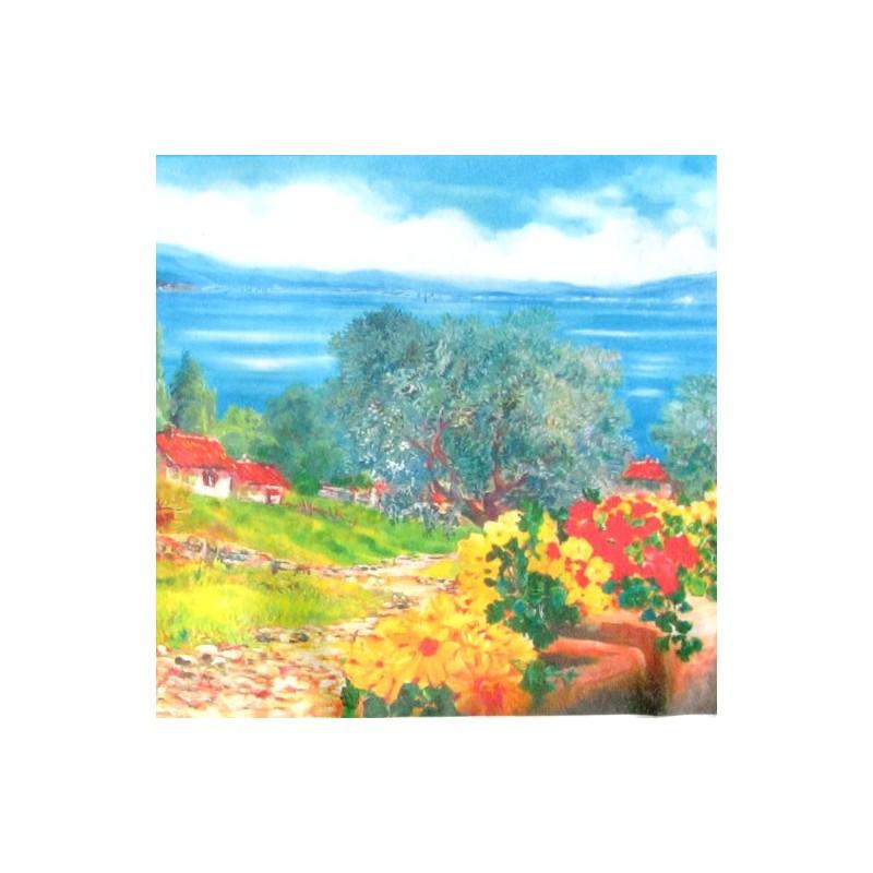 "Pocket bookmark by Beniamino Ajroldi ""Colors of Lake Garda"""