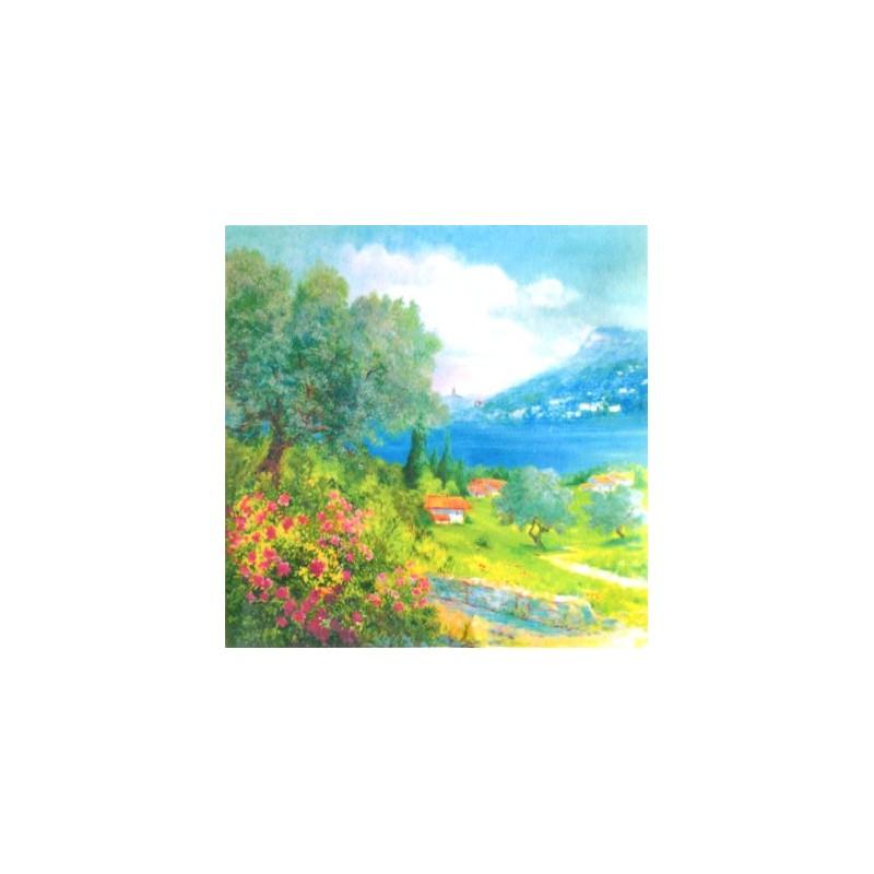 "Pocket bookmark by Beniamino Ajroldi ""The Rocca del Garda"""