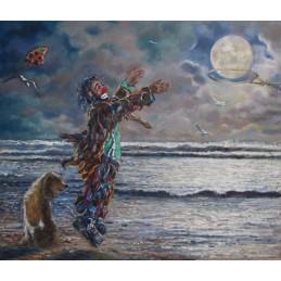 """""""Basket con la luna al mare"""""""