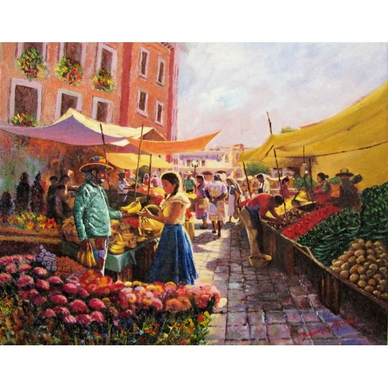 """Beniamino al mercato"""
