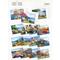 Artistic postcards