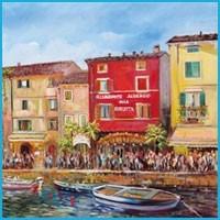 Riccardo Bellotto - Visioni del Lago di Garda e Città Italiane
