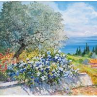 Landscapes of Lake Garda by Beniamino Ajroldi