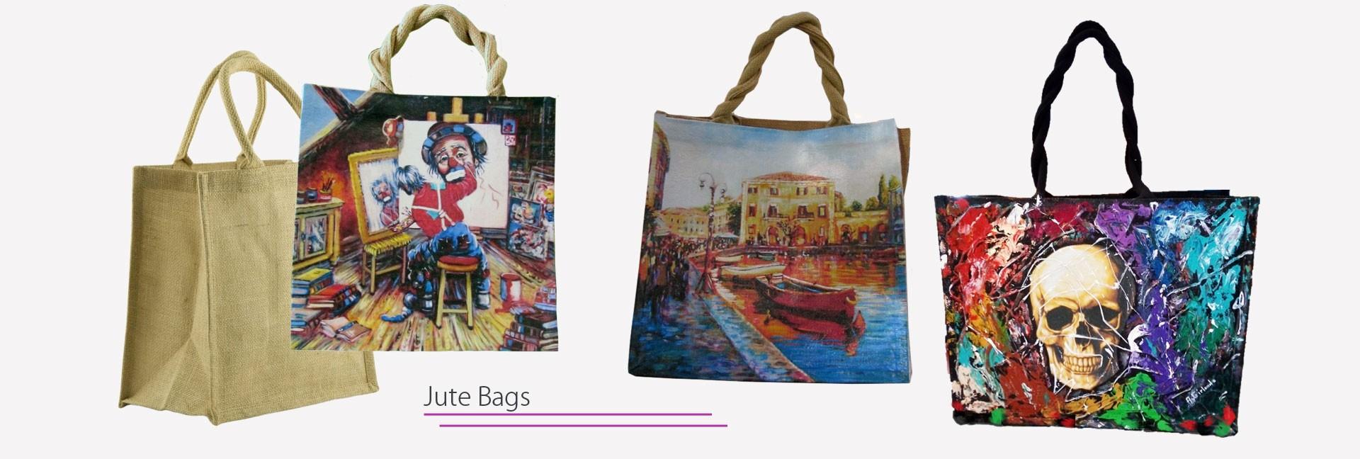 Jute women's bags